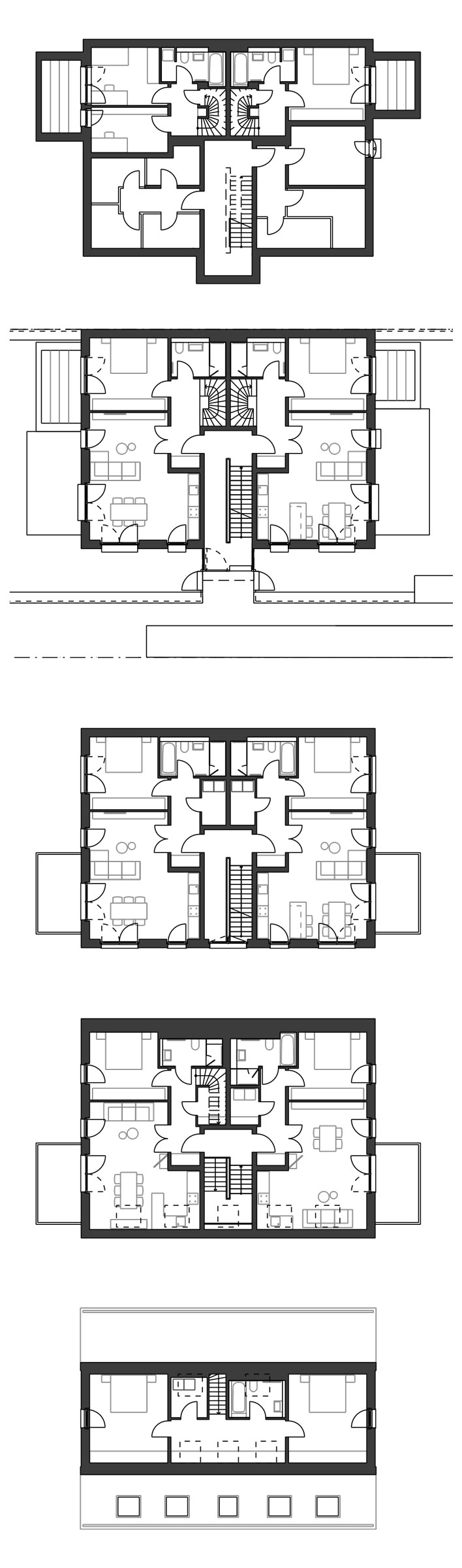 Neubau Mehrfamilienhaus in Düsseldorf, Hamm